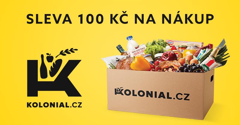 SuperSoused.cz 100Kč sleva na kolonial.cz