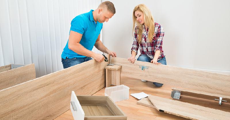 montování nábytku